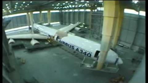 Airbus A340-600 Final Assembly Video HQ