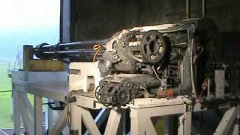 Gau-22 a test firing