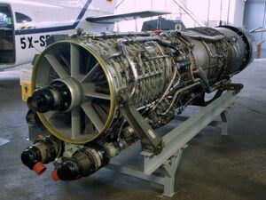 Версия J79-11A для истребителя F104 Starfighter