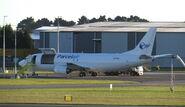 ZK-PAQ loading Parcelair Christchurch
