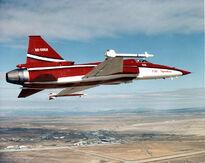 755px-F-20 Northrop colors in flight