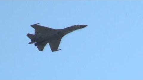 MAKS 2011 Su-35 DemoFlight МАКС