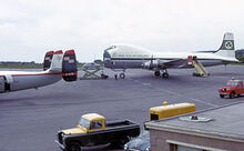 300px-Carvair and ambassador at bristol airport 1965 arp.jpg