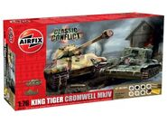 Classic Conflict Gift Set - Cromwell and king tiger