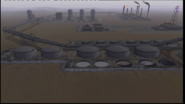 Oilfield Base from the south.