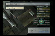 Lightning F6 Rocket Pod