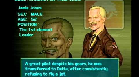 Air Force Delta Strike Character Profile-Jamie Jones