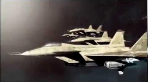 Air Force Delta Strike Cutscene-Quiet Front