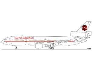 Narus Airlines DC-10