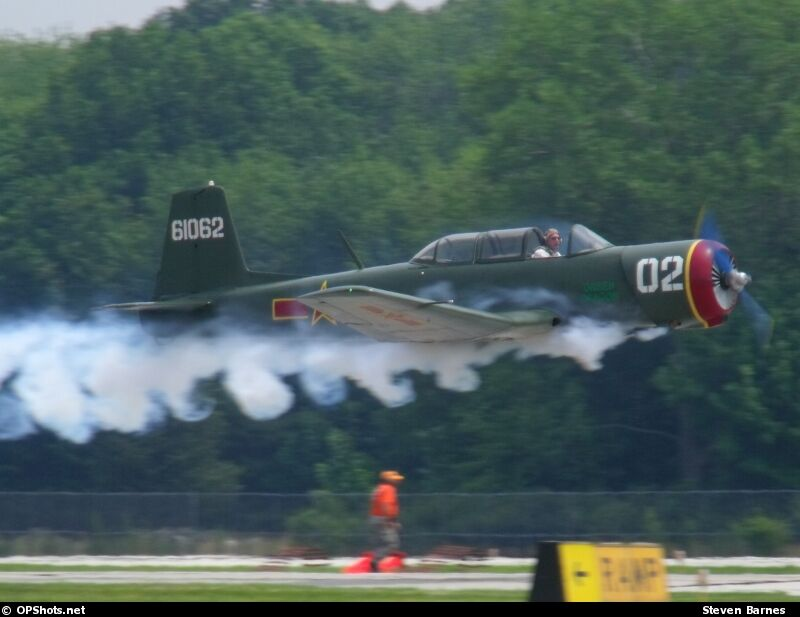 """Smokin' takeoff at Lost Nation's """"Gathering of Eagles"""""""