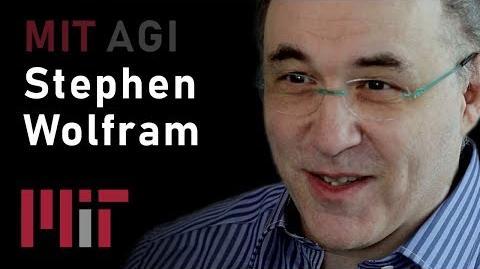 MIT AGI Computational Universe (Stephen Wolfram)