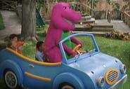 Barney-Drives-His-Car