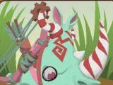Candy Cane Rhinos