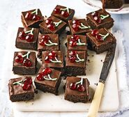 Black-forest-brownies