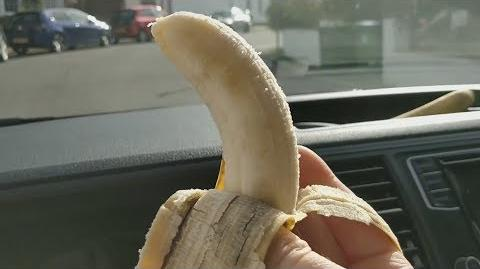Throwing Bananas At People That Text And Drive