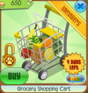 Grocery Shopping Cart yellow.PNG