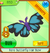 Butterfly hair bow rare.png
