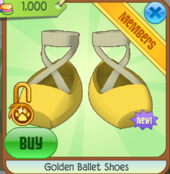 Golden Ballet Shoes.PNG