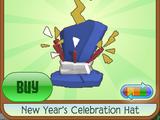 New Year's Celebration Hat