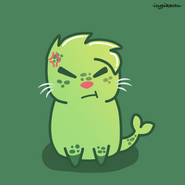 Chibi seal v1 - angry