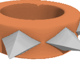Rare Short Spiked Wristband