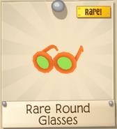 Rare round glasses