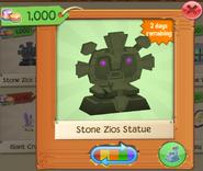 PlayWild StoneZiosStatue PurpleEyes(3)