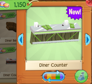 Diner counter 4