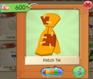 PlayWild PatchTie Orange