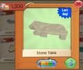 PlayWild StoneTable5