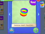 Rainbow Heart Gauntlets