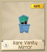 Rare vanity mirror