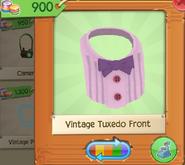 Vintage Tuxedo Front Purple (3)