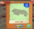 PlayWild StoneTable3
