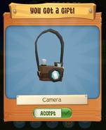 Camera forest run