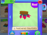 Feathered Gauntlets