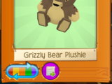 Grizzly Bear Plushie