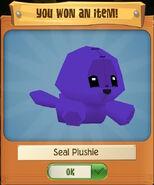 Seal Plushie