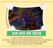 Club geoz has fallen