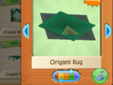 Origami Rug