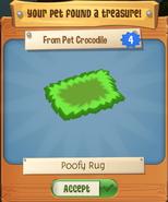 Poofy Rug (Pet Treasure)