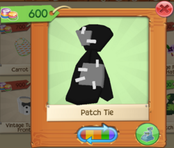 PlayWild PatchTie Black.png