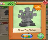 PlayWild StoneZiosStatue GreenEyes(2)
