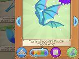 Tsunamidragon12's Double Dragon Wings