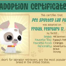 Pet Spotted Lab Puppy Play Wild Wiki Fandom