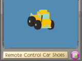 Remote Control Car Shoes