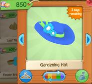 Gardening hat 1
