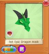 Pet epic dragon mask3