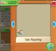 Tan Flooring