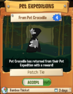 Patch Tie (Pet Expedition)